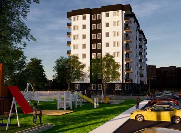 Atom Top Metal Residential Building Investment